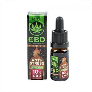 #123.7 Olejek CBD 10% Euphoria Antistress 10ml