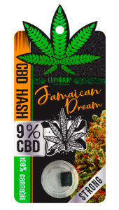 #73 Hash CBD Jamaican Dream 9mg