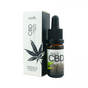 #89.1 Olejek CBD India 5% 10ml