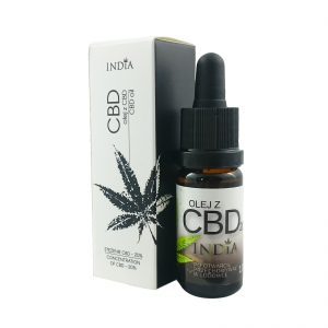 #89.3 Olejek CBD India 20% 10ml